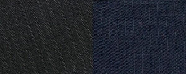 シャドーストライプのスーツ生地