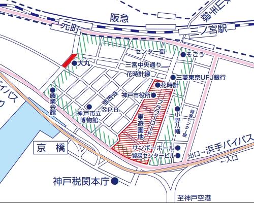 神戸まつり交通規制の画像