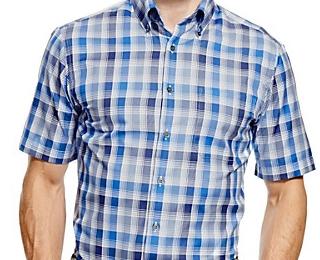 半袖ワイシャツおしゃれな着こなし