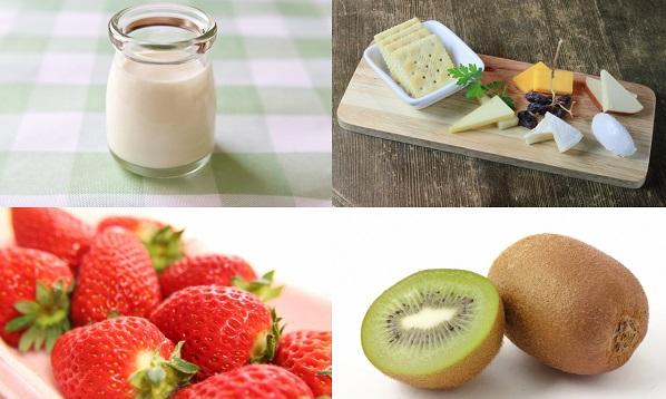 運動前におすすめのアミノ酸を含んだ食べ物果物