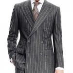 スーツのダブルおしゃれな着こなし意識すべきは逆三角形!?