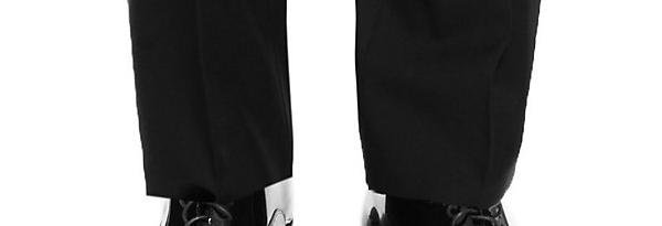 シングルの裾