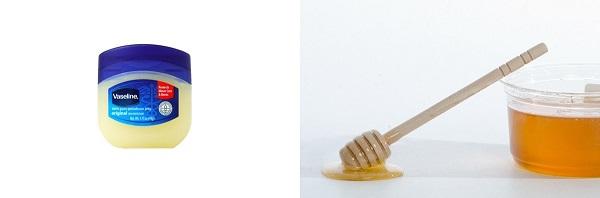 ワセリンとハチミツ