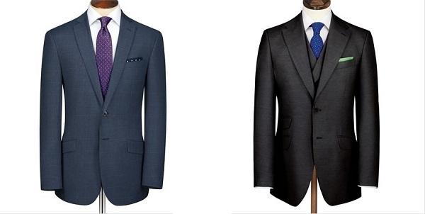 ネクタイの柄orシャツの柄と少し変えたポケットチーフの色、まったく違う色または補色のポケットチーフ