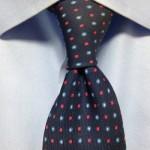ネクタイの結び方おしゃれな締め方は3種類のディンプル?