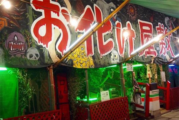 八坂神社のお花見時期の出店